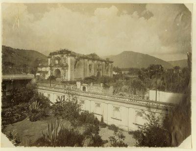 ruinas de santa teresa en la antiguedad