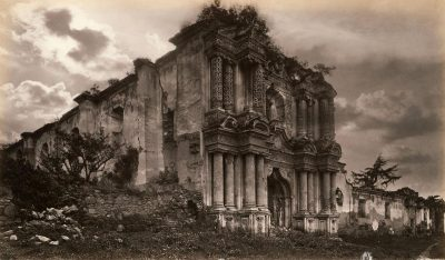 ruinas del carmen en la antiguedad