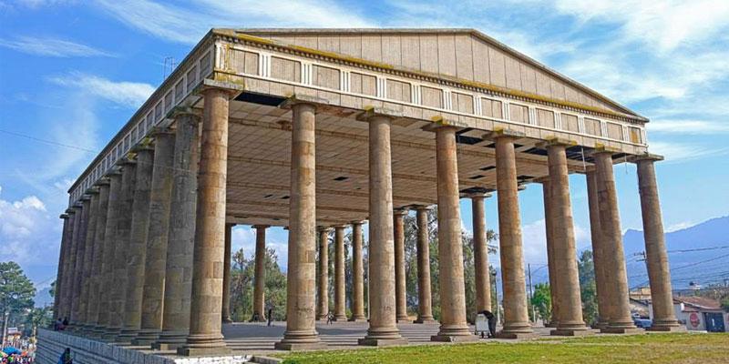 templo de minerva en guatemala