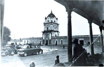 torre centroamericana en la antiguedad