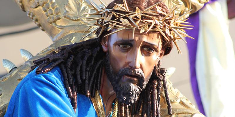 Consagrada imagen de Jesús Nazareno del Consuelo