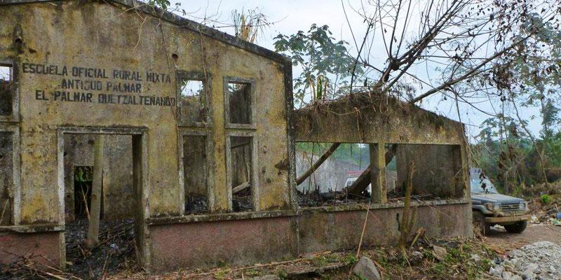 El Viejo Palmar en Quetzaltenango y su historia