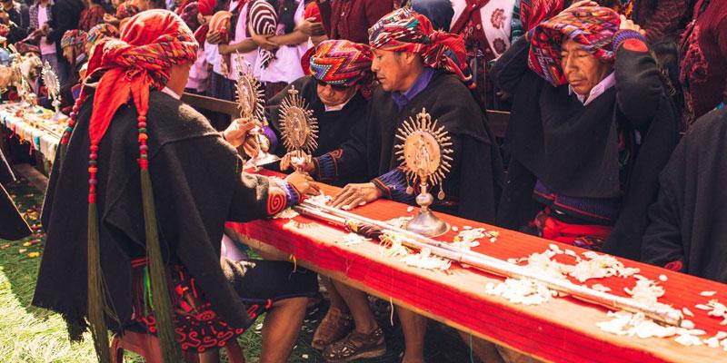 Historia de las cofradías en Guatemala
