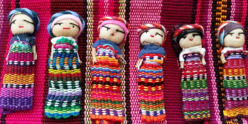 Las muñecas quitapenas de Guatemala