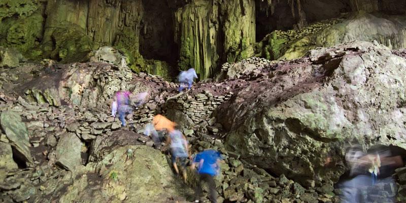 Lugar sagrado Cueva Naj Tunich Petén