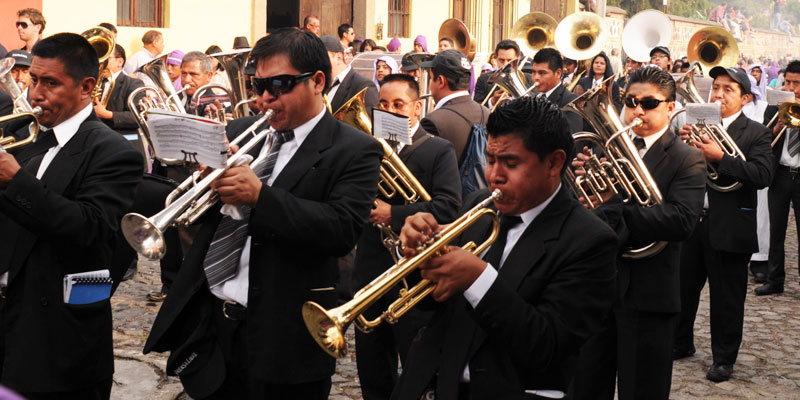 Marchas Fúnebres Patrimonio Guatemala