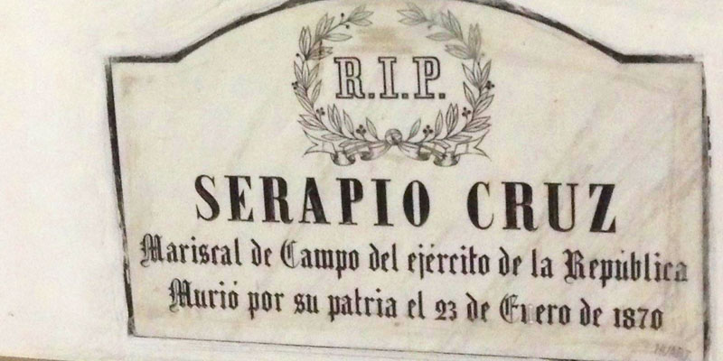 Mariscal Serapio Cruz Tata Lapo