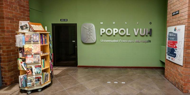 Museo Popol Vuh en Guatemala