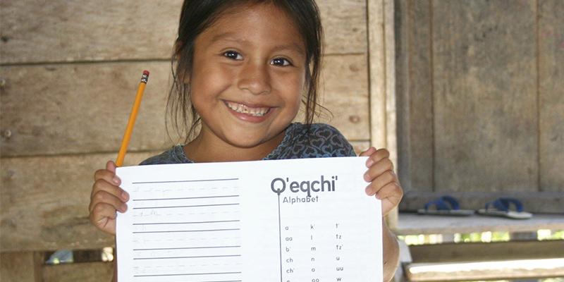 Palabras en idioma q'eqchi' de Guatemala