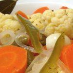 Receta para hacer ensalada en escabeche guatemalteca