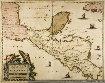 como era el mapa de guatemala