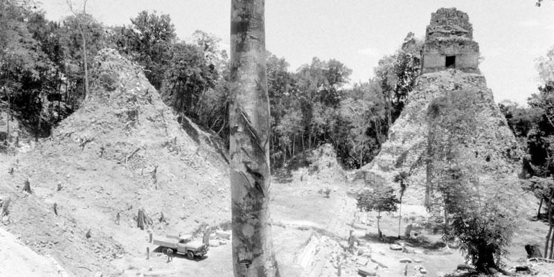 Descubrimiento de las ruinas de Tikal
