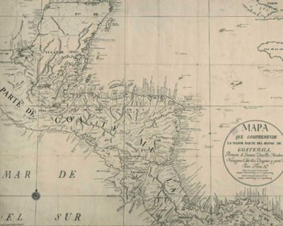 mapa de guatemala en la epoca de la conquista