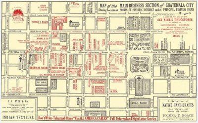 mapa del centro historico