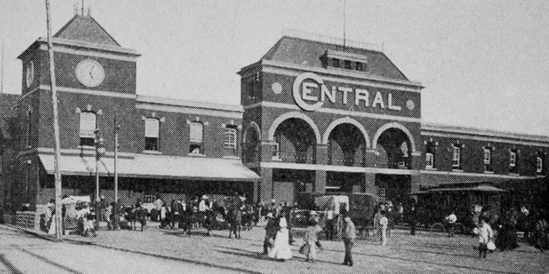 Historia de la estación central del ferrocarril en Guatemala