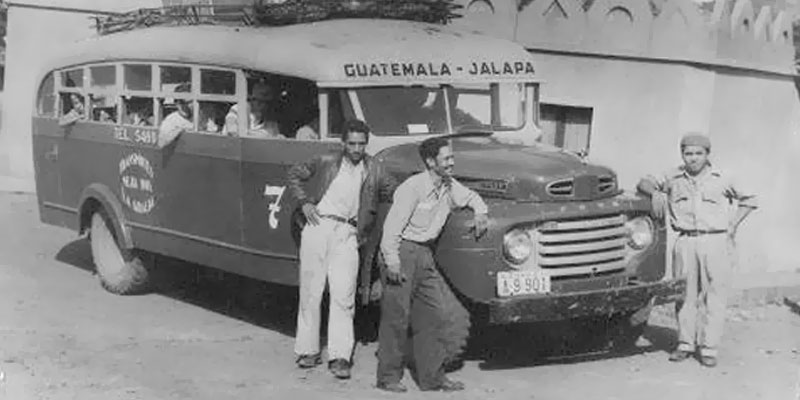 Historia del transporte urbano en Guatemala