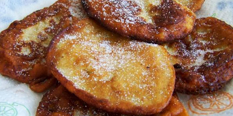 Receta para hacer fritas de banano