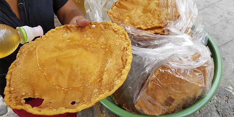 Receta para hacer hojuelas guatemaltecas