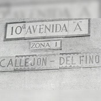 callejon del fino guatemala