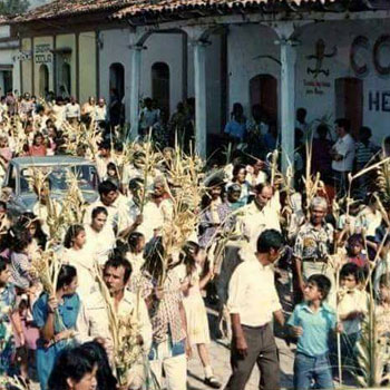 domingo de ramos en la antiguedad