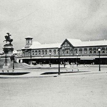 estacion central del ferrocarril