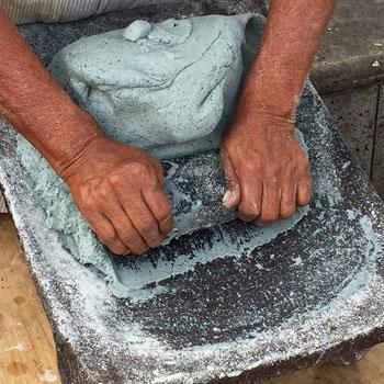 historia piedra de moler