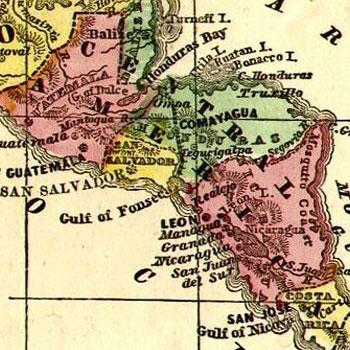 provincias de centroamerica