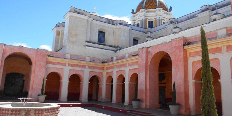 Convento de la Iglesia de la Merced en Guatemala