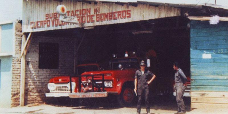 Historia de los Bomberos Voluntarios de Guatemala