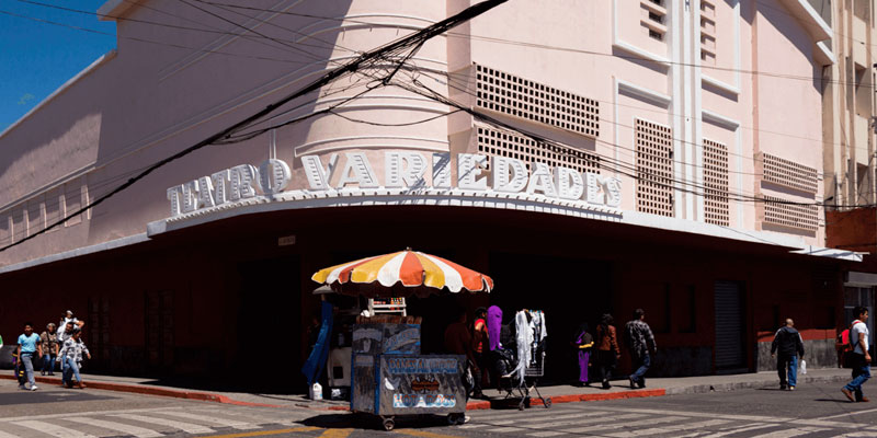 Historia del Teatro Variedades en Guatemala