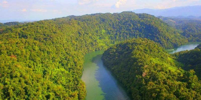 Parque Nacional Río Dulce en Izabal