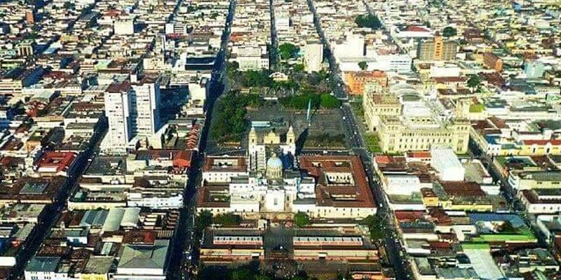 Trazo de la Ciudad de Guatemala