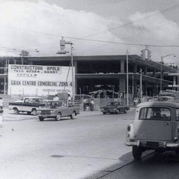 Trazo de la zona 4 de la Ciudad de Guatemala