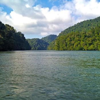 area protegida rio dulce