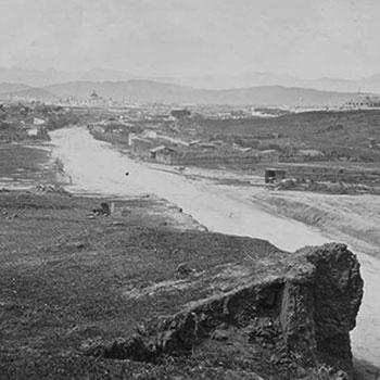 avenida bolivar en la antiguedad