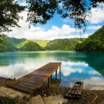 Laguna Brava en Huehuetenango, Guatemala