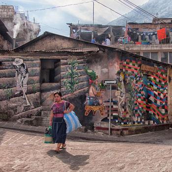 mural maiz guatemala