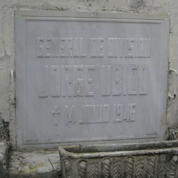 tumba jorge ubico