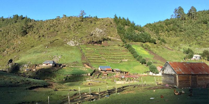 Aldea Chiabal en Huehuetenango