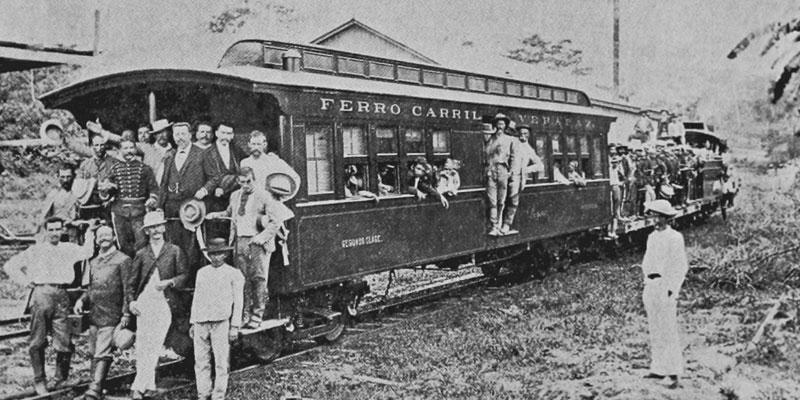Historia del Ferrocarril Verapaz de Guatemala