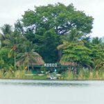 Museo Santa Bárbara en el lago de Petén Itzá