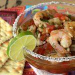 Receta de Ceviche de camarón al estilo guatemalteco