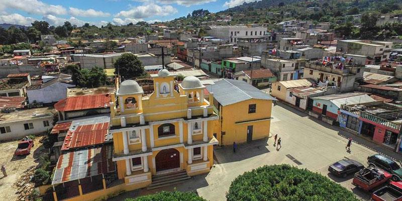 San Bartolomé Milpas Altas en Sacatepéquez
