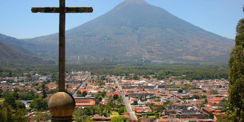 Trazo de la ciudad de Antigua Guatemala