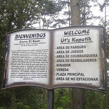 Leyenda del Cerro El Baúl, Quetzaltenango