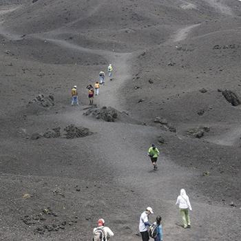 Requisitos para federarte en Andinismo en Guatemala volcán pacaya