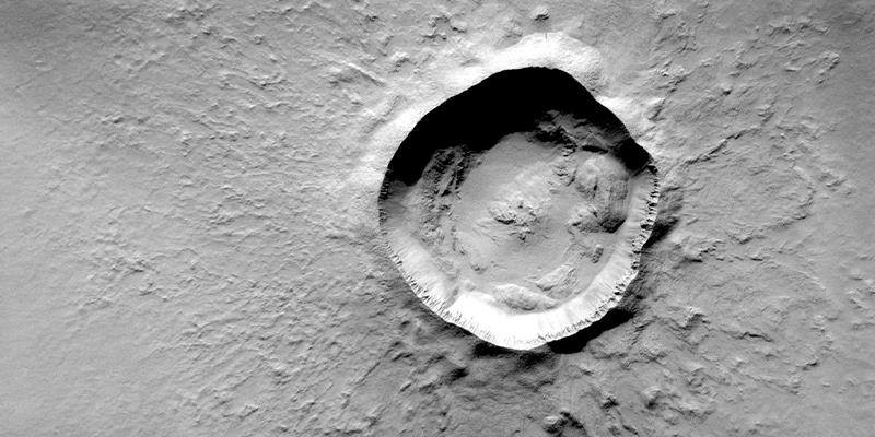 Origen guatemalteco del cráter Zunil de Marte