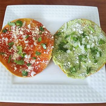 Receta de tostadas guatemaltecas