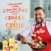 ¡Dale un toque de salud a tu cocina con Aceite Capullo!