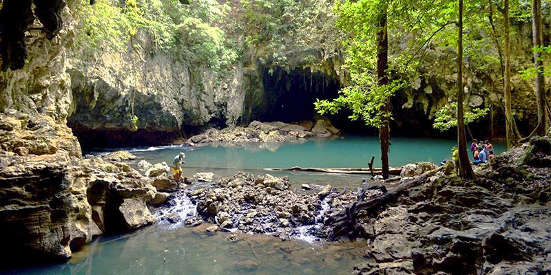 Cuevas de Se'tzol en Alta Verapaz